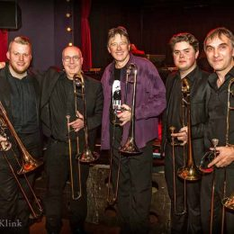 MJO Trombone Section & Conrad Herwig, Photo credits to Hardy Klink